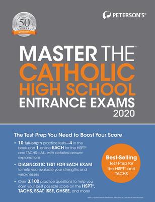 Master the Catholic High School Entrance Exams 2020 Cover Image