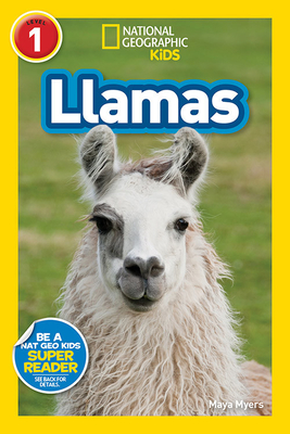 National Geographic Readers: Llamas (L1) Cover Image
