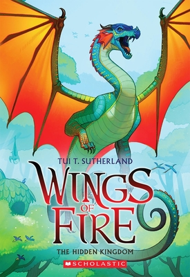 Wings of Fire Book Three: The Hidden Kingdom Cover Image