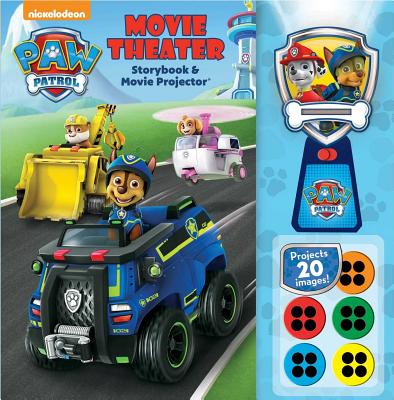 Nickelodeon PAW Patrol: Movie Theater Storybook & Movie Projector Cover Image