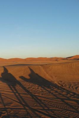 The Moroccan Desert Notebook Cover Image