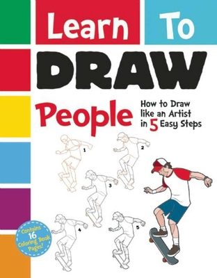 Learn to Draw People: How to Draw like an Artist in 5 Easy Steps Cover Image