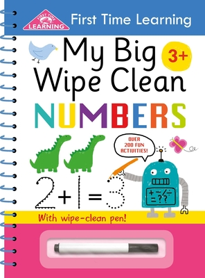 My Big Wipe Clean Numbers (First Time Learning) Cover Image