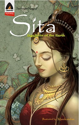 Sita: Daughter of the Earth: A Graphic Novel (Campfire Graphic Novels) Cover Image