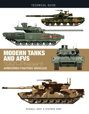 Modern Tanks and Afvs: 1991-Present (Technical Guides) Cover Image