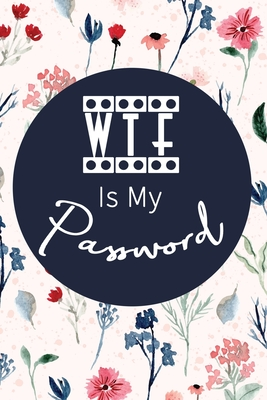 WTF Is My Password: Password Log Book And Internet Password Alphabetical Pocket Size Small Organizer Black Frame 6