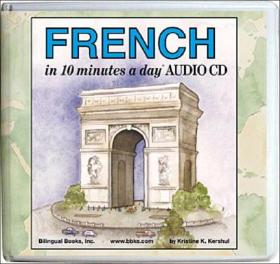 French in 10 Minutes a Day Audio CD Wallet - Library Edition Cover