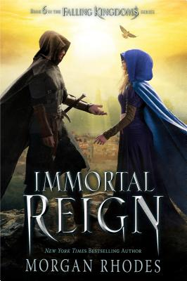 Immortal Reign: A Falling Kingdoms Novel Cover Image