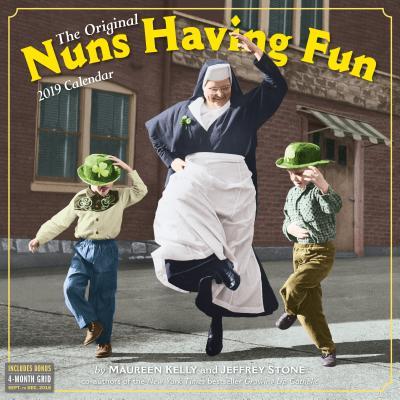 Nuns Having Fun Wall Calendar 2019 Cover Image