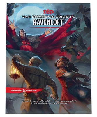 Van Richten's Guide to Ravenloft (Dungeons & Dragons) Cover Image