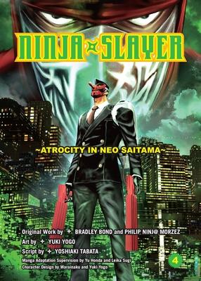 Cover for Ninja Slayer, Part 4
