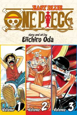 One Piece (Omnibus Edition), Vol. 1: Includes vols. 1, 2 & 3 Cover Image