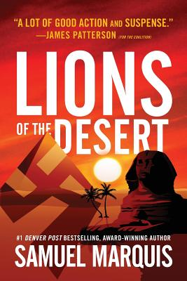 Lions of the Desert: A True Story of WWII Heroes in North Africa (World War Two #4) Cover Image