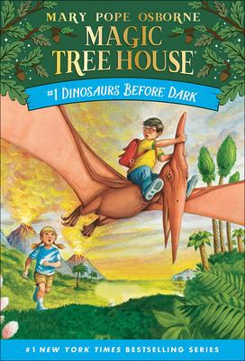 Dinosaurs Before Dark (Magic Tree House #1) Cover Image