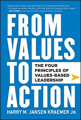 Cover for From Values to Action