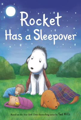 Cover for Rocket Has a Sleepover
