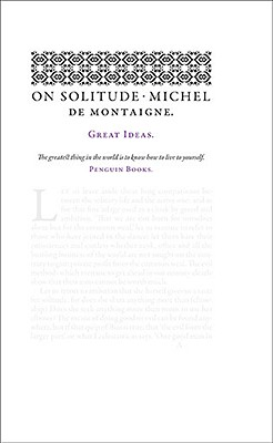 On Solitude (Penguin Great Ideas) Cover Image