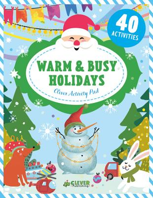 Cover for Warm & Busy Holidays (Clever Activity Pad)