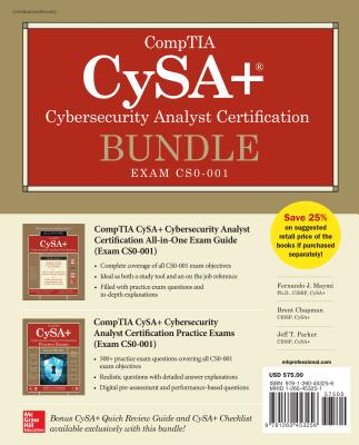 Comptia Cysa+ Cybersecurity Analyst Certification Bundle (Exam Cs0-001) Cover Image