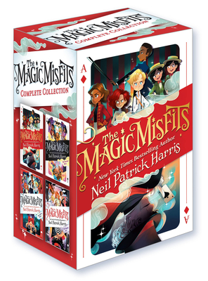 The Magic Misfits Complete Collection Cover Image