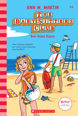 Boy-Crazy Stacey (The Baby-Sitters Club) Cover Image