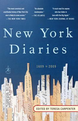 New York Diaries: 1609 to 2009 Cover Image