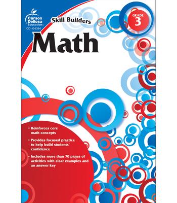 Math, Grade 3 (Skill Builders (Carson-Dellosa)) Cover Image