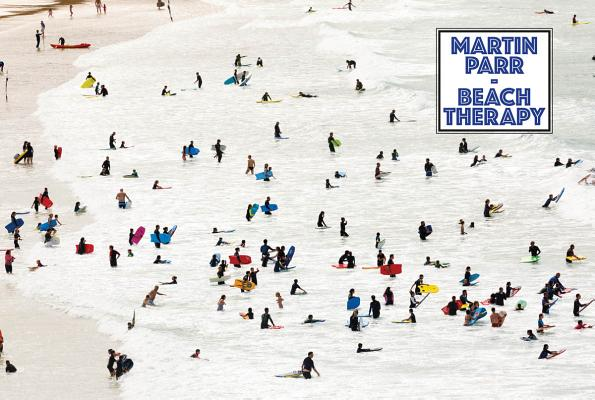 Martin Parr: Beach Therapy Cover Image