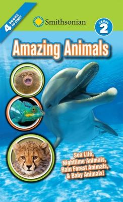 Smithsonian Readers: Amazing Animals Level 2 (Smithsonian Leveled Readers) Cover Image