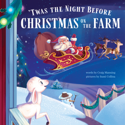 'twas the Night Before Christmas on the Farm Cover Image