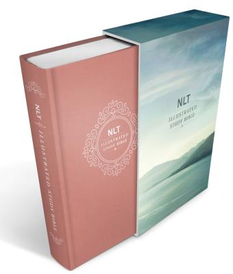 Illustrated Study Bible NLT, Deluxe Linen Edition Cover Image