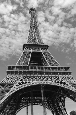 Notebook: Eiffel Tower Cover Image