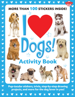 I Love Dogs! Activity Book Cover