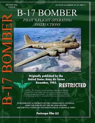 B-17 Bomber Pilot's Flight Operating Manual Cover Image
