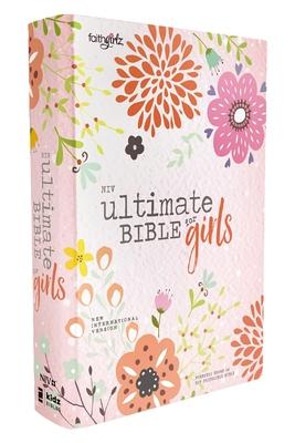 Niv, Ultimate Bible for Girls, Faithgirlz Edition, Hardcover Cover Image