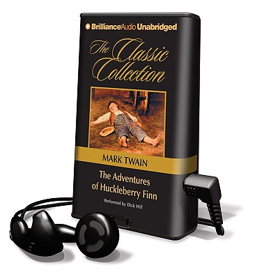 The Adventures of Huckleberry Finn [With Earbuds] (Playaway Adult Fiction) Cover Image