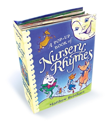 A Pop-Up Book of Nursery Rhymes: A Classic Collectible Pop-Up Cover Image