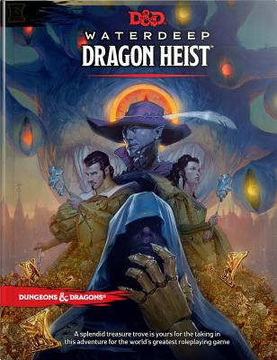 D&D Waterdeep Dragon Heist HC (Dungeons & Dragons) Cover Image