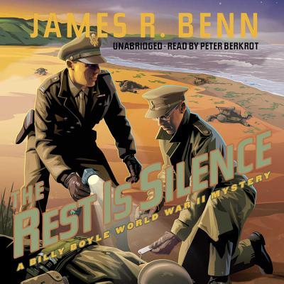 The Rest Is Silence Lib/E: A Billy Boyle World War II Mystery (Billy Boyle World War II Mysteries #9) Cover Image