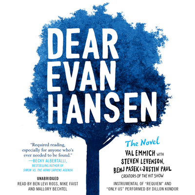 Dear Evan Hansen: The Novel Lib/E Cover Image