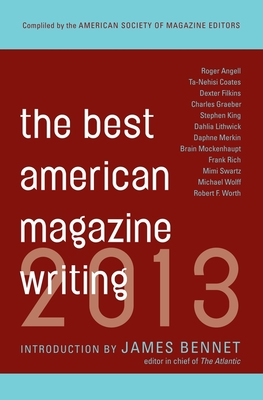 The Best American Magazine Writing Cover Image