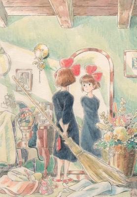 Kiki's Delivery Service Journal: (Hayao Miyazaki Concept Art Notebook, Gift for Studio Ghibli Fan) Cover Image