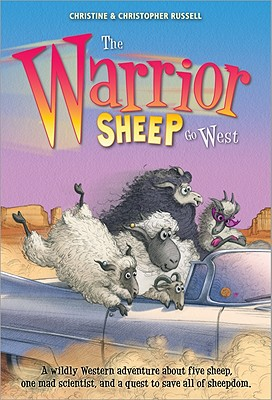 The Warrior Sheep Go West Cover