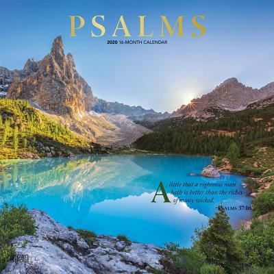 Psalms 2020 Square Foil Cover Image