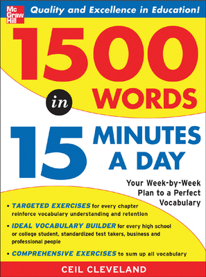 1500 Words in 15 Minutes a Day Cover