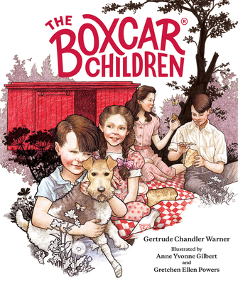 The Boxcar Children, Fully Illustrated Edition by Gertrude Chandler Warner