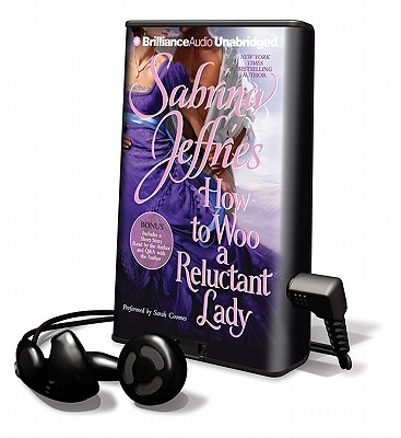 How to Woo a Reluctant Lady [With Earbuds] (Playaway Adult Fiction) Cover Image