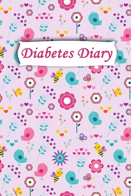 Diabetes Diary: Professional Glucose Monitoring - 2 Year Diary - Daily Record of your Blood Sugar Levels (before & after meals + bedti Cover Image