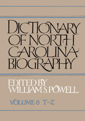Dictionary of North Carolina Biography Cover