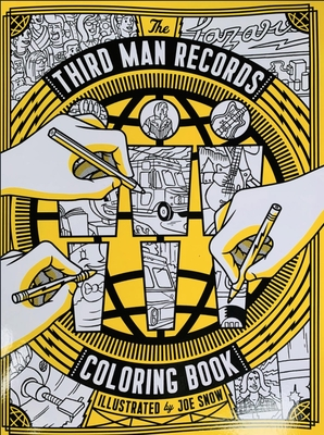 Cover for Third Man Records Coloring Book
